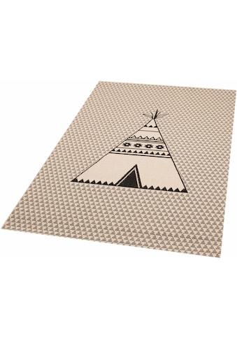 Kinderteppich, »Tipi Noya«, Zala Living, rechteckig, Höhe 4 mm, maschinell gewebt kaufen