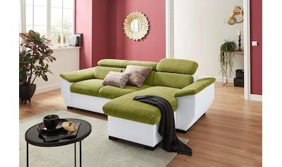 COTTA Ecksofa, wahlweise mit Bettfunktion und Bettkasten kaufen