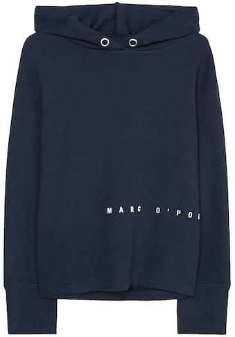 Marc O'Polo DENIM Kapuzensweatshirt, mit seitlichem Logo-Print kaufen