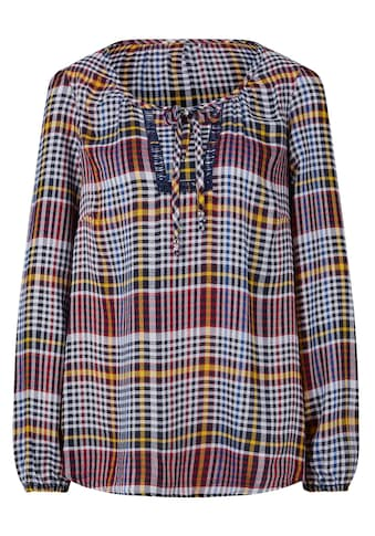 Casual Looks Bluse im Karo - Dessin kaufen
