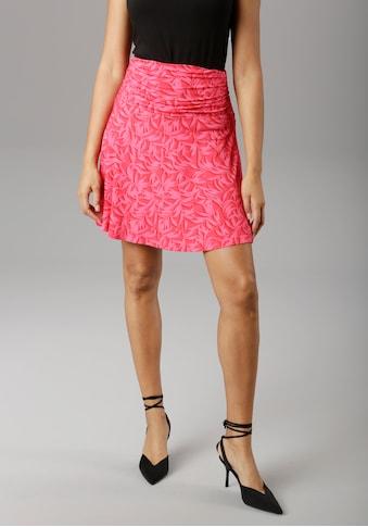 Aniston SELECTED Sommerrock, mit seitlicher Raffung - NEUE KOLLEKTION kaufen