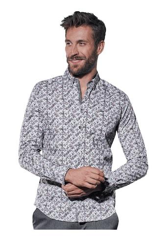 emilio adani Bedrucktes Langarmhemd kaufen