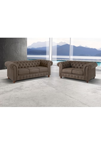 Premium collection by Home affaire Sitzgruppe »Chesterfield« (2 - tlg) kaufen