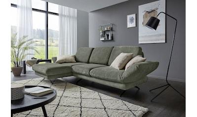 Places of Style Ecksofa »Saletto«, modernes Design, mit Armlehnenfunktion, wahlweise... kaufen