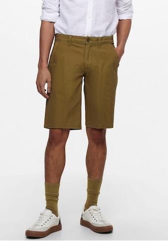 ONLY & SONS Shorts »LEO SHORTS LINEN« kaufen