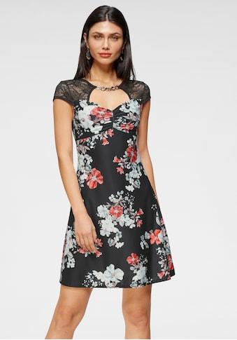 Melrose Sommerkleid, mit Zierschnalle und Spitze - NEUE KOLLEKTION kaufen
