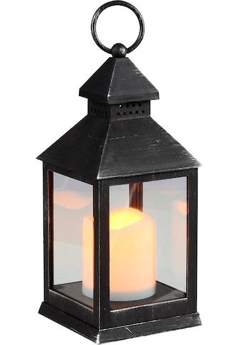Home affaire Laterne, inkl. LED Kerze, Höhe 24 cm kaufen