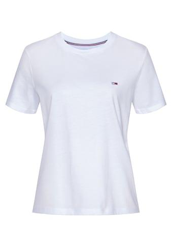 TOMMY JEANS Rundhalsshirt »TJW REGULAR JERSEY C NECK« kaufen