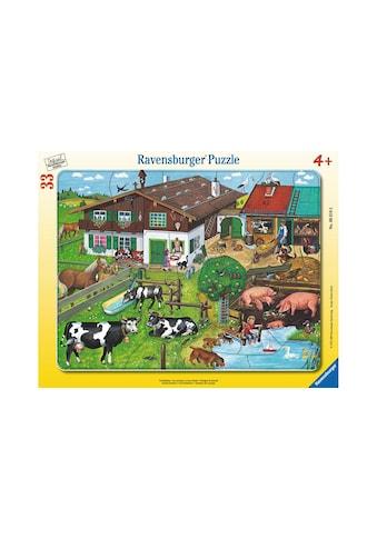 Ravensburger Puzzle »Tierfamilien« kaufen