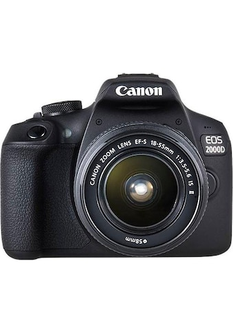Canon »EOS 2000 D EF - S 18 - 55 IS II Kit« Spiegelreflexkamera (EF - S 18 - 55 IS II, 24,1 MP, NFC WLAN (Wi - Fi)) kaufen