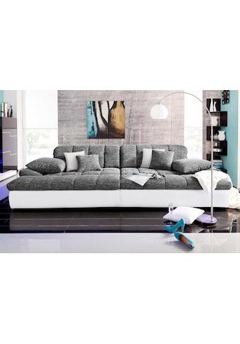 Nova Via Big-Sofa »Biarritz«, wahlweise mit Kaltschaum (140kg Belastung/Sitz) und... kaufen
