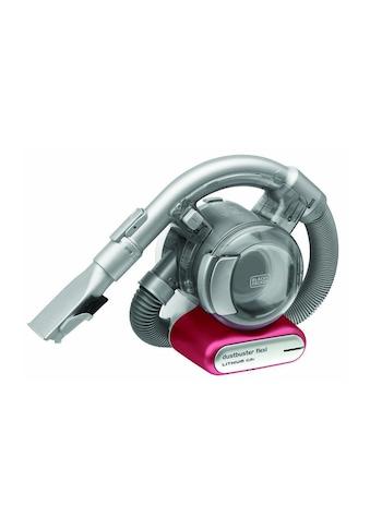 Akku - Handsauger, Black & Decker, »Dustbuster Flexi Silberfarben, Pink« kaufen