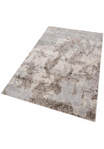merinos Teppich »Edina«, rechteckig, 12 mm Höhe, Vintage Design, Hoch-Tief-Effekt,... kaufen