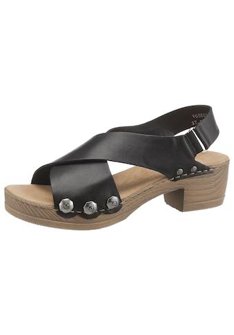 Rieker Sandalette, mit angesagten Nieten kaufen