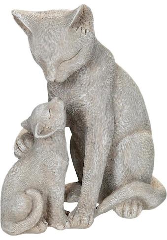 Ambiente Haus Dekofigur »Katzen mit Kätzchen«, Höhe 14 cm kaufen