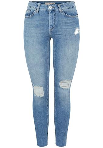pieces Skinny-fit-Jeans »PCDELLY«, mit Destroyed Effekten kaufen