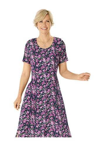 Classic Basics Kleid mit Blütendruck kaufen