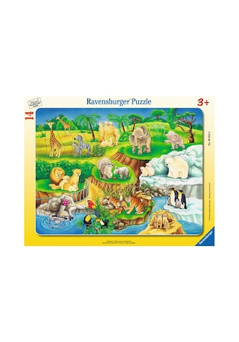 Ravensburger Puzzle »Zoobesuch« kaufen