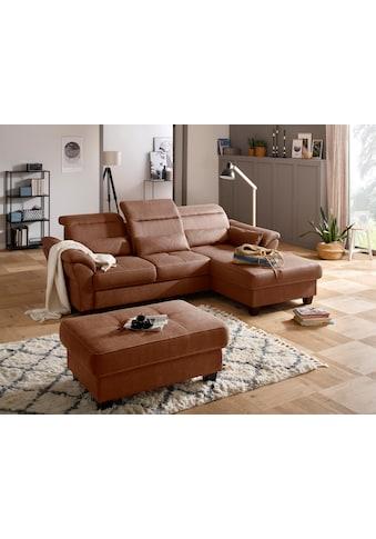Premium collection by Home affaire Ecksofa »Solvei«, mit Recamierenabschluss und... kaufen