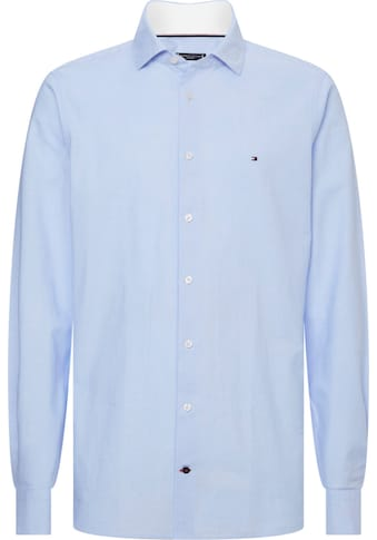 Tommy Hilfiger TAILORED Businesshemd »WASHED OXFORD CLASSIC SLIM SHIRT« kaufen