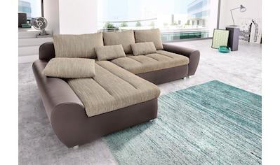 sit&more Ecksofa »Bandos«, in 2 unterschiedlichen Grössen, wahlweise mit Bettfunktion kaufen