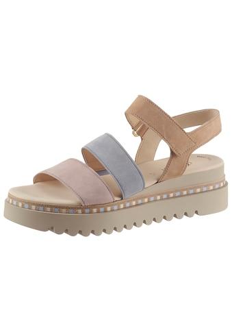 Gabor Sandalette, in modischen Pastelltönen kaufen