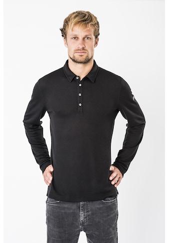 SUPER.NATURAL Poloshirt »M PIQUET LS POLO« kaufen
