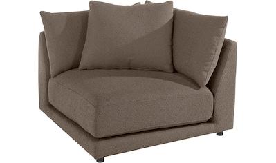 Places of Style Sofa-Eckelement »Volente«, setzen Sie ihr eigenes Modul-Sofa zusammen kaufen