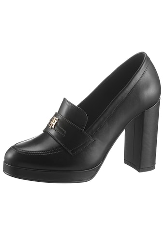 TOMMY HILFIGER High - Heel - Pumps »POLISHED TOMMY HIGH HEEL PUMP« kaufen