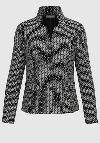 bianca Jerseyblazer »JOALINA«, mit modernem, grafischen Muster kaufen