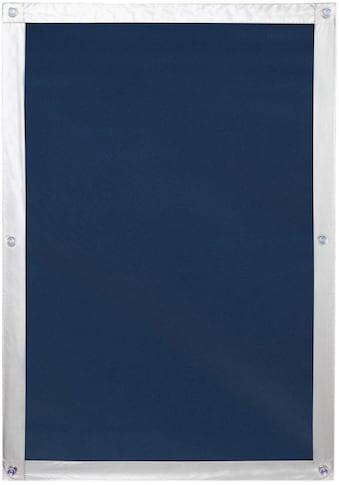 LICHTBLICK ORIGINAL Dachfensterrollo »Haftfix Hitzeschutz Abdunkelung«, verdunkelnd,... kaufen
