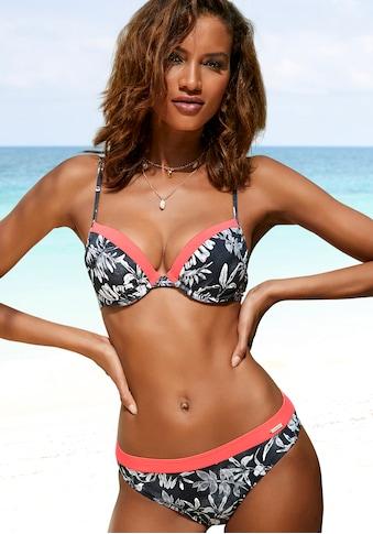 Sunseeker Push-Up-Bikini-Top »Mono«, mit kontrastfarbenem Einsatz kaufen