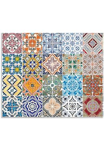 Artland Küchenrückwand »Gemusterte Keramikfliesen«, selbstklebend in vielen Grössen -... kaufen