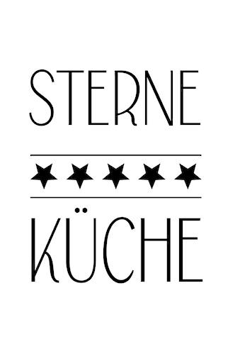 queence Wanddekoobjekt »5 STERNE KÜCHE« kaufen