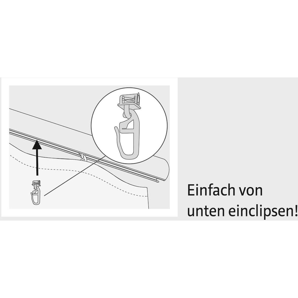 Good Life Klick-Gleiter »Alves«, (Packung, 100 St.), für Vorhangstangen mit schmalem Lauf (4 mm)