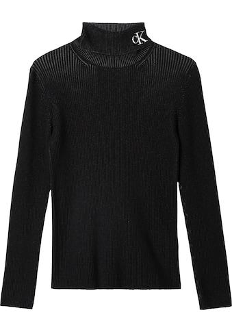 Calvin Klein Jeans Rollkragenpullover »RIB ROLL NECK WITH CK« kaufen