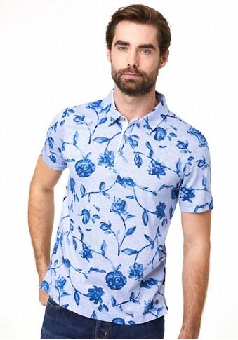 Pierre Cardin Poloshirt floraler Print kaufen