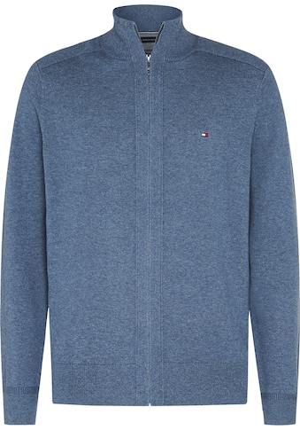 TOMMY HILFIGER Strickjacke »PIMA COTTON CASHMERE ZIP THROUGH« kaufen