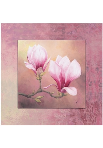 Home affaire Wandbild »Late Magnolia« kaufen