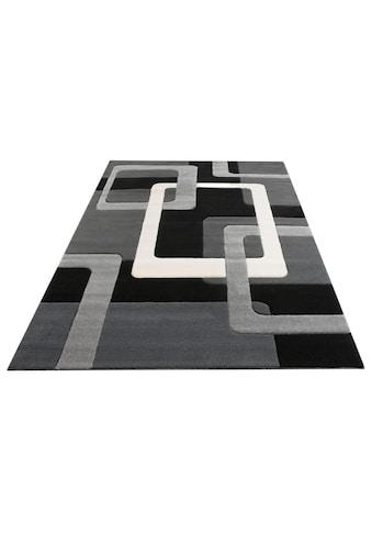 my home Teppich »Maxim«, rechteckig, 13 mm Höhe, Hoch-Tief-Effekt, Wohnzimmer kaufen