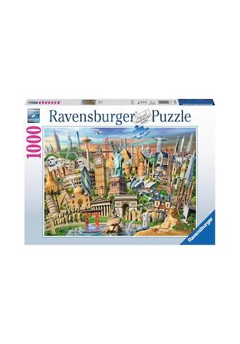 Ravensburger Puzzle »Sehenswürdigkeiten weltweit« kaufen
