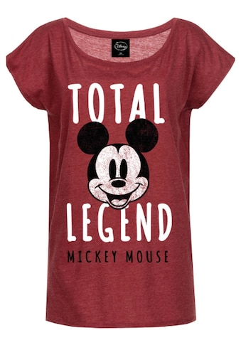 Disney T-Shirt »Mickey & Minnie Mouse Mickey Mouse Total Legend« kaufen
