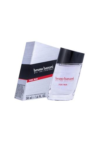 Bruno Banani Eau de Toilette »Bruno Banani Eau de Toilette Pure M« kaufen