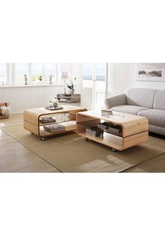 Premium collection by Home affaire Couchtisch »Emil«, auf Rollen, Breite 110 cm kaufen