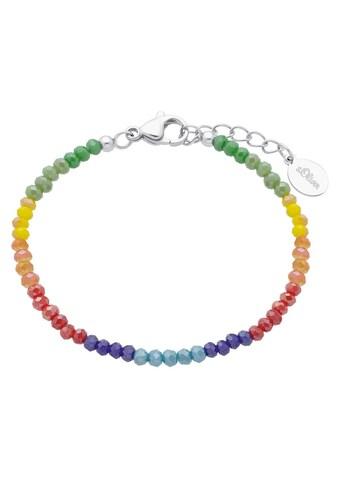 s.Oliver Junior Armband »Junior, 2026055«, mit Glassteinen kaufen