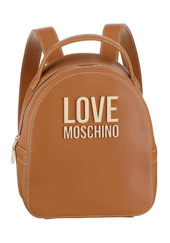 LOVE MOSCHINO Cityrucksack, mit vergoldfarbenetem Love Moschino Logo kaufen