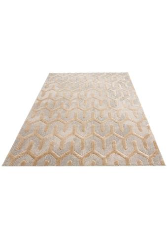 Home affaire Teppich »Ulme«, rechteckig, 20 mm Höhe, orientalischen Muster, Wohnzimmer kaufen