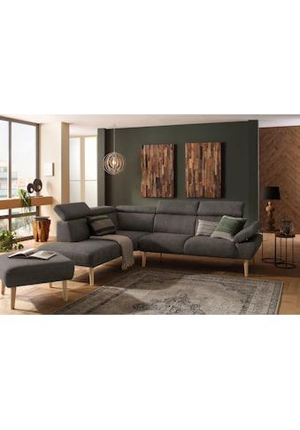 Premium collection by Home affaire Ecksofa »Trapino«, Mit Kopf- und... kaufen