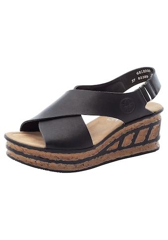 Rieker Sandalette, mit Klettverschluss-Riemchen kaufen