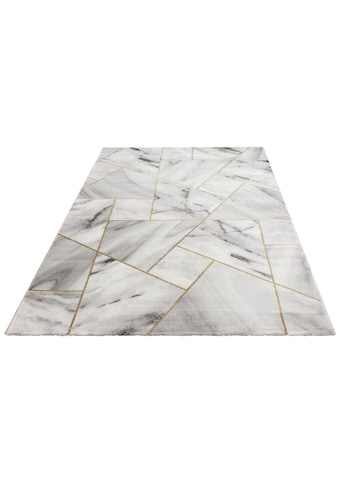 Leonique Teppich »Lerina«, rechteckig, 12 mm Höhe, moderne Marmor-Optik, Wohnzimmer kaufen